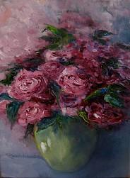 Różowy bukiet