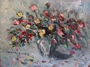 Bukiecik różany II