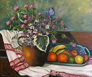 Koniczyna i owoce