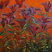 Lilie w purpurze