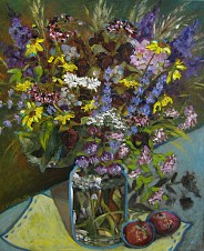 Kwiaty w słoiku II