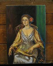 Pałacowy portret damy