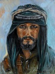 Beduin z Petry w Jordanii