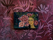 Obraz w obrazie. Różana