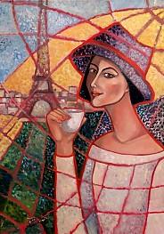 Taka jedna na kawusi w Paryżu