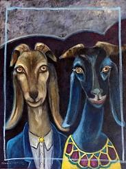 Takie dwie kozy