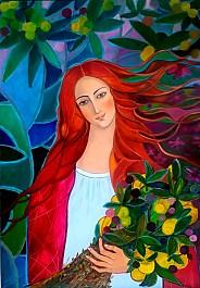 Flora. Rzymska bogini kwiatów i wiosny
