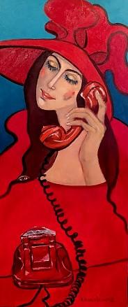 Dzwonię by powiedzie Ci, że Cię kocham.