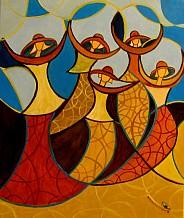 Tańczące  w Mieście kobiet