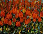 Tulipany, dużo tulipanów