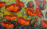 Czerwone anemony